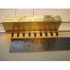 4mm 00 Gauge Sleeper Spacing Tool